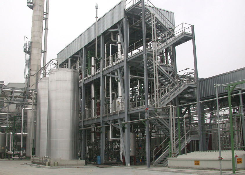 INDUSTRIAL PLANTS TOTALLY TAILORED TO VERY SPECIAL CLIENT'S REQUIREMENTS
